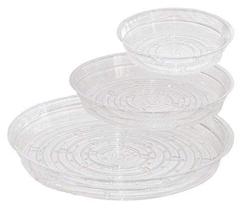 15-pc Set Home & Garden Plant Pot Saucers - Assorted Sizes - EBook Included