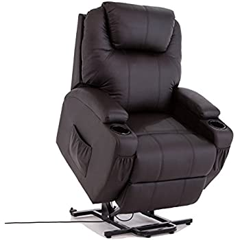 Power Lift Real Leather Recliner Chair Wall Hugger Lounge Seat Brown  sc 1 st  Amazon.com & Amazon.com: Coaster Home Furnishings Modern Transitional Power ... islam-shia.org