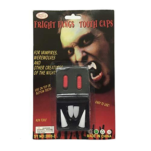 ProExtend Halloween Cosplay Props Vampire Werewolf Deluxe Custom Fangs with Glue