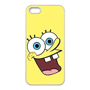 Sponge Bob iPhone 5 5s Cell Phone Case White MSY204633AEW