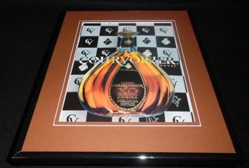 2002-courvoisier-cognac-11x14-framed-original-advertisement
