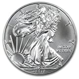 2012 American Silver Eagle Coin 1oz Uncirculated in AirTite by Mint