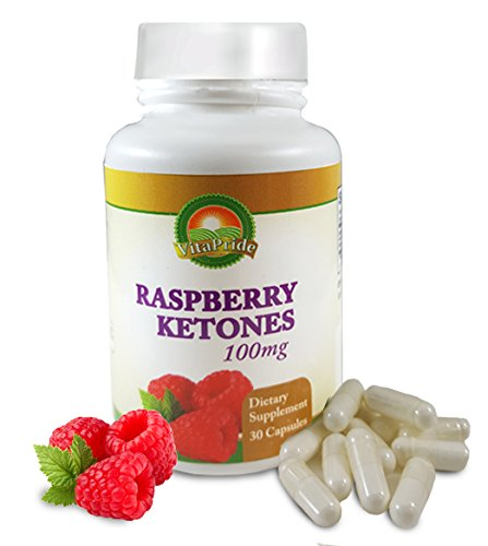 Natural Raspberry Ketones Dietary Supplement For Weight Loss And Energy 100 Mg 30 Capsules
