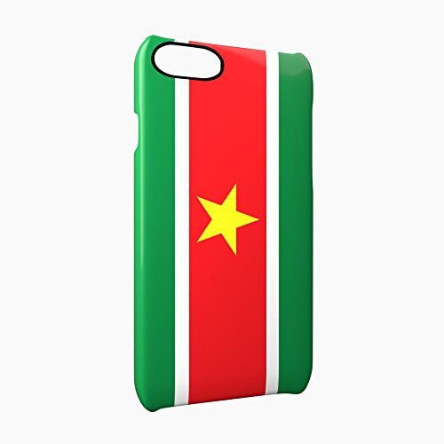 Flag of Suriname Glossy Hard Snap-On Protective iPhone 7 Plus + Case Cover