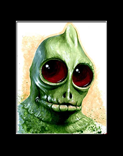 SLEESTAK from LAND OF THE LOST Fine Art Print