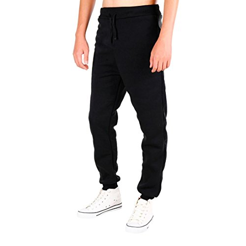 Duck Dungaree Flannel Lined Washed (Aurorax Men's Jogger Pants,[Casual-Sport Stretch Jogger] Workout Pant Sweatpant With Pockets Trousers (Black, M))