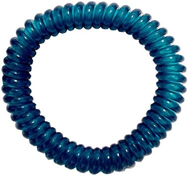 Springz Chewable Bracelet Fiddle Bracelet Clear Blue