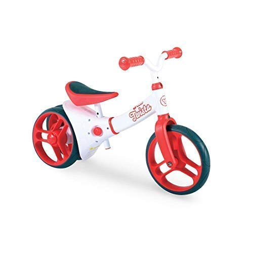 Y-Volution Y Velo Twista Baby Balance Bike | Walking Bicycle with Adjustable Wheels and Seat | 18+ months