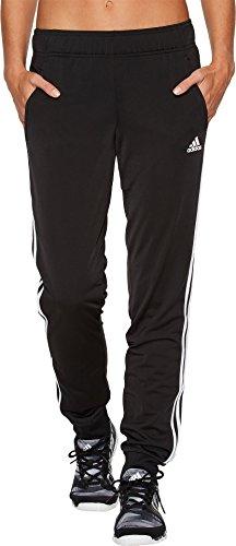 adidas Women's Designed 2 Move Cuff Pants, Black/White, Medi