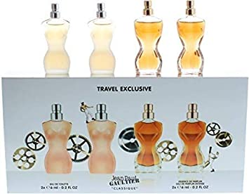 0e90c1de6 Amazon.com : Jean Paul Gaultier Classique Women 4 Piece Miniature Set :  Beauty