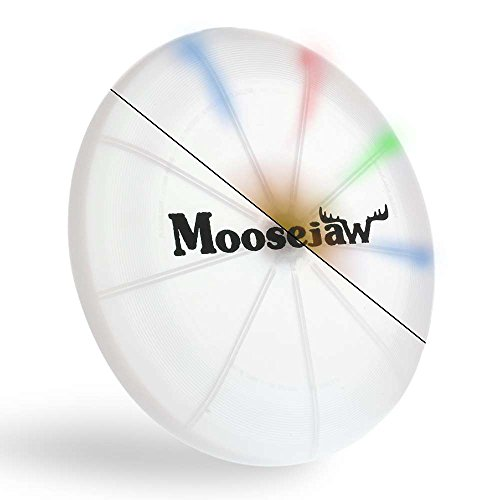 Nite Ize Flashflight LED Light Up Flying Disc, Glow in the Dark for Night Games, 185g, Disc-O -