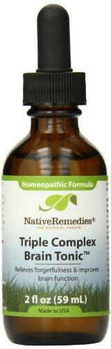 (Native Remedies Triple Complex Brain Tonic, 2 Fluid Ounce)