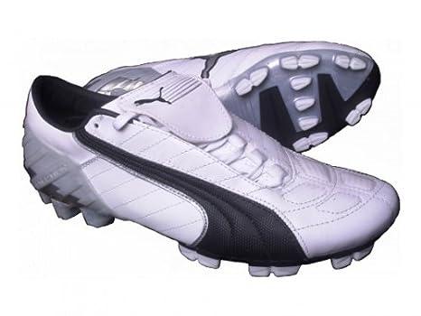 Puma camme scarpe da calcio di V KAT GCI FG BIANCO ARGENTO