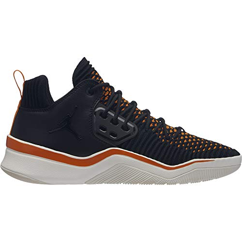 Jordan Dna LX Sneakers Nero Arancio Bianco AO2649-007 (44 - Nero)