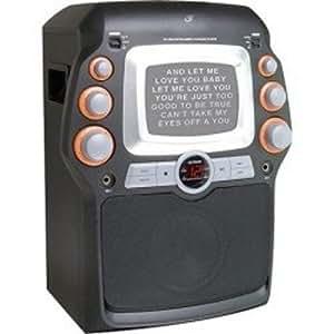 Gpx JM332B Karaoke Party Machine, Black