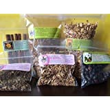 Herbal Sampler: herbs to make rootbeer or bitters ~ Sarsaparilla ~ Dandelion root ~ Juniper berry ~ wild Cherry bark ~ birch bark ~ cinnamon sticks ~ Ravenz Roost herbs