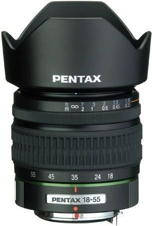 Pentax DA 18-55mm f/3.5-5.6 AL Lens for Pentax and Samsung D