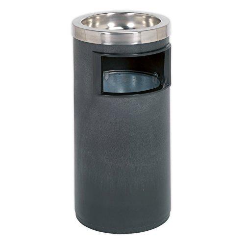 Sealey RCB06 - Portaceneri e cestino della spazzatura, 270 x 270 x 590 mm