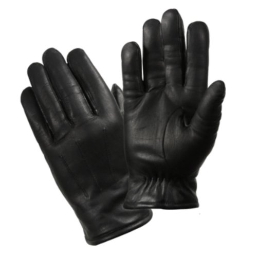 Rothco Cold Weather Leather Police Gloves, Black, Medium
