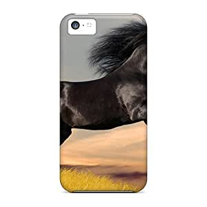 For VeCBHfE34qYXqr Animals Horses Silky Racer Protective Case Cover Skin/iphone 5c Case Cover