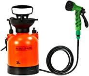 Dreamseeker 3L Outdoor Camping Shower, Portable Bath Multifunctional Sprayer, Travel Watering and Car Washing