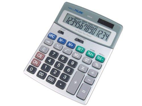 Blister calculadora 14 dígitos Milan M40924BL