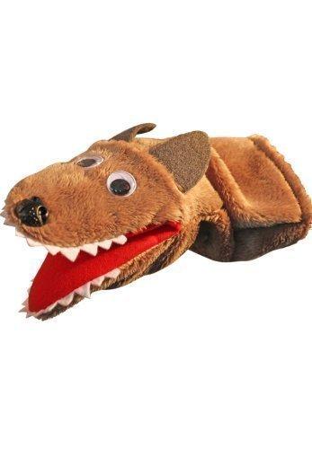 Marioneta/títere Muñeca títere lobo kersa lina: Amazon.es: Juguetes y juegos