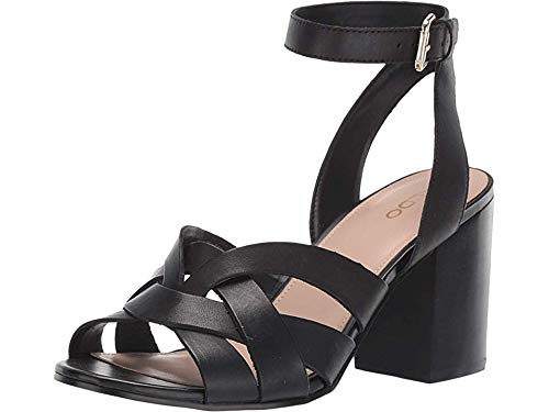 ALDO Women's Gaclya Black Leather 40 B EU ()