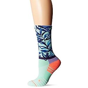 Stance Women's Mint Tree Crew Sock, Seafoam, S