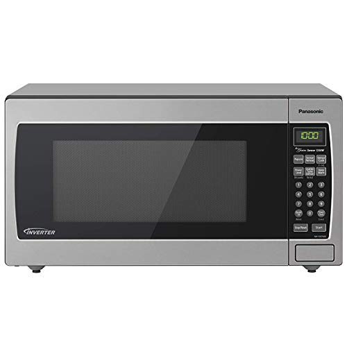 Panasonic Microwave Oven NN-SN766S Stainless Steel Counterto