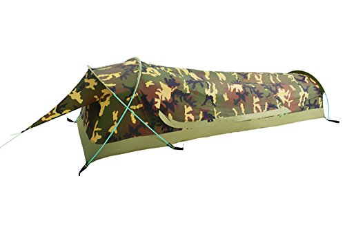 Ultralight Bivy Sacks (Ultralight 1-Person Waterproof BIVY Tent For Camping, Hiking, Hunting - Quick Easy Set Up (Camouflage))