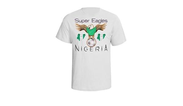 Nigeria Football Mascot Mens World Cup T-Shirt Camiseta Para ...