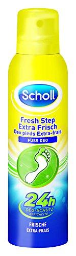 Scholl Fresh Step Fußdeo - extra frisch, 3er Pack (3 x 150 ml)