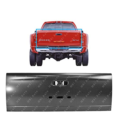 MBI AUTO - Primered, Steel Tailgate Shell for 2003 2004 2005 2006 Dodge Ram 3500 Dually 03 04 05 06, CH1900125