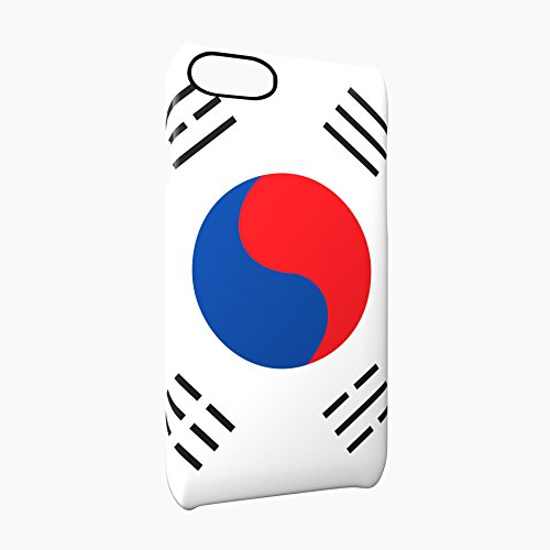 Flag of South Korea Glossy Hard Snap-On Protective iPhone 7 Plus + Case Cover