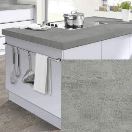 Modulocuisine Plan De Travail Cuisine Beton 200x65cm Amazon Fr