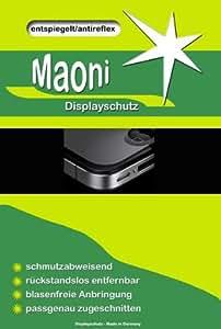 Maoni - Protectores de pantalla para TomTom Rider (3 unidades, antihuellas y antirreflejos)