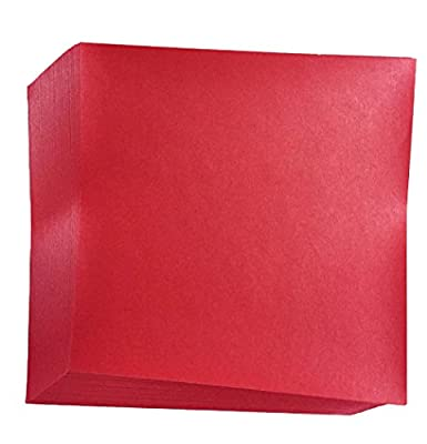 Red Origami Paper 50 sheets #N8287