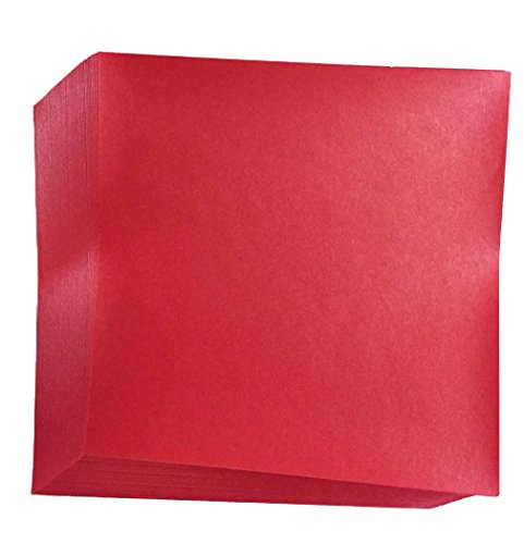 Red Origami Paper sheets N8287