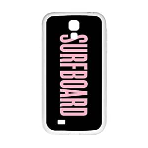 Pink surfboard motto Cell Phone Case for Samsung Galaxy S4