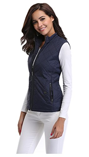 Quilted Down Vest - 8