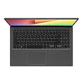"ASUS F512DA-EB51 VivoBook 15 Thin And Light Laptop, 15.6"" Full HD, AMD Quad Core R5-3500U CPU, 8GB DDR4 RAM, 256GB PCIe SSD, AMD Radeon Vega 8 Graphics, Windows 10 Home,Slate Gray"