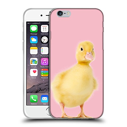 "GoGoMobile Coque de Protection TPU Silicone Case pour // Q05780630 Canetons Rosa // Apple iPhone 6 PLUS 5.5"""