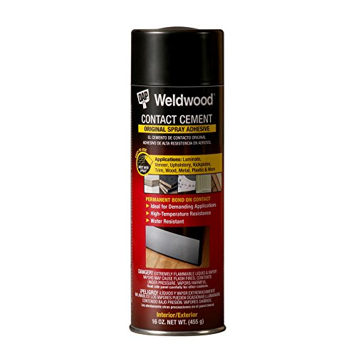 (Pack of 2) Weldwood Off-White Interior/Exterior Contact Cement Construction Adhesive 00122 (Multi Weldwood Purpose Floor)