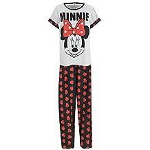 Disney Minnie Mouse Womens Minnie Mouse Pajamas