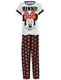 Disney Minnie Mouse Womens Minnie Mouse Pajamas
