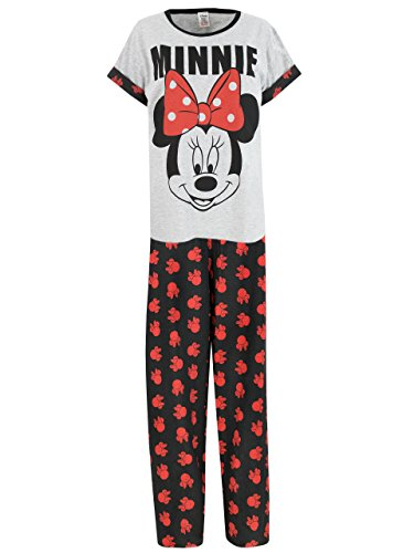 Disney Minnie Mouse - Ensemble De Pyjamas - Minnie Mouse - Femme