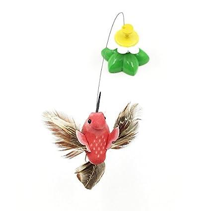 Tianu Juguetes para gatos eléctricos con diseño de pájaros ...