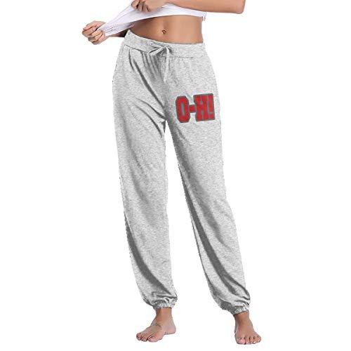 - Ohio State O-H Women's Sweatpants Open-Bottom Women's Jersey Pants M Gray