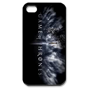 Customize Game of Thrones Iphone 4 4S Hard Case Custom Case for Iphone 4 4S by runtopwell